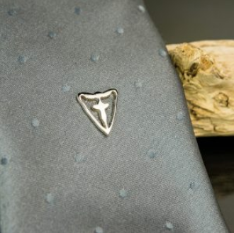 Sterling Silver Tie Tack : Lapel Pin